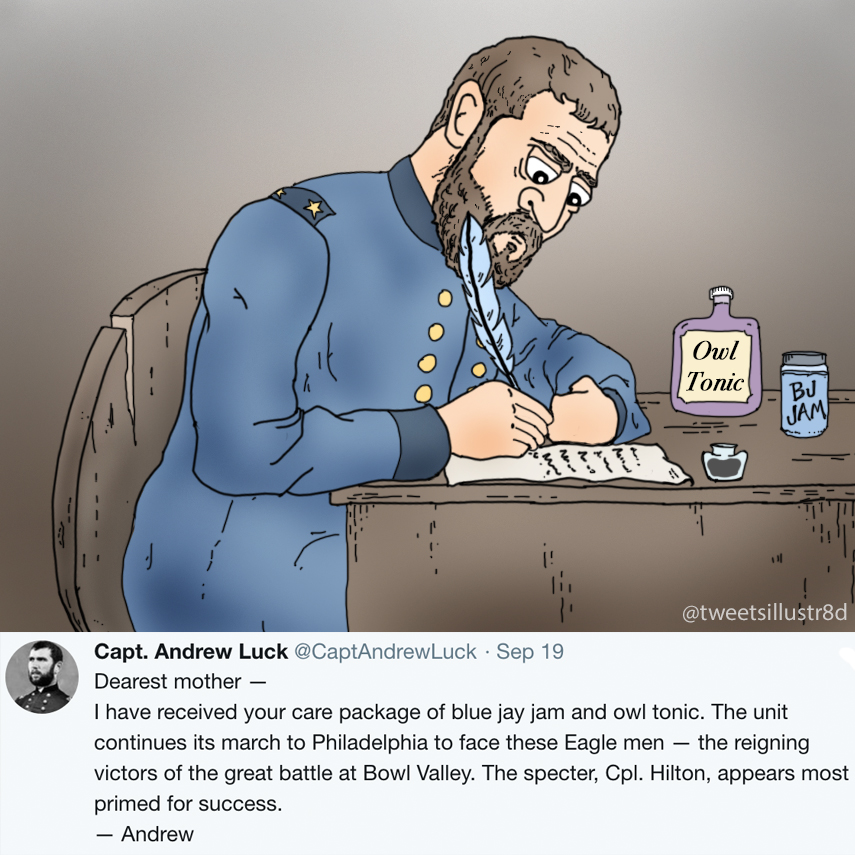 Tweets Illustrated - Captain Andrew Luck Writes His Mother
