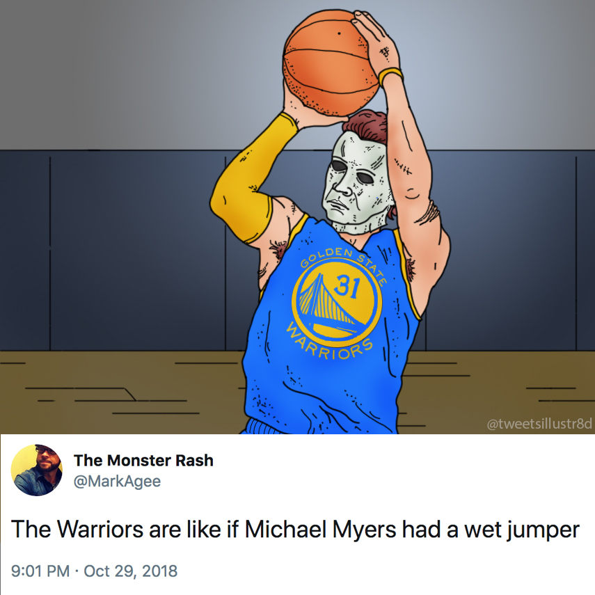 Tweets Illustrated - Michael Myers' Wet Jumper